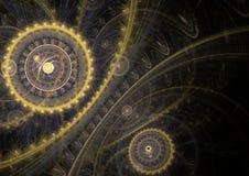 Μηχανή Steampunk διανυσματική απεικόνιση