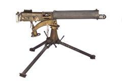 μηχανή wwii πυροβόλων όπλων Στοκ Εικόνες