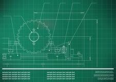 Μηχανικά σχέδια Στοκ εικόνες με δικαίωμα ελεύθερης χρήσης