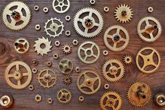Μηχανικές ρόδες εργαλείων βαραίνω Στοκ φωτογραφίες με δικαίωμα ελεύθερης χρήσης