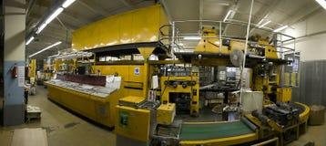 μηχανική εκτύπωση Τύπου Στοκ Εικόνες