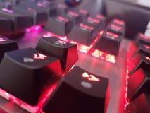 Μηχανική ελαφριά επίδραση Keybord στοκ φωτογραφία με δικαίωμα ελεύθερης χρήσης