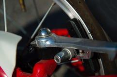 Μηχανική λεπτομέρεια ποδηλάτων Στοκ φωτογραφία με δικαίωμα ελεύθερης χρήσης