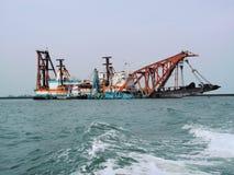 μηχανική θάλασσα τεράτων Στοκ φωτογραφία με δικαίωμα ελεύθερης χρήσης