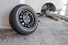 Μηχανική μεταβαλλόμενη ρόδα αυτοκινήτων Στοκ εικόνα με δικαίωμα ελεύθερης χρήσης