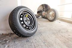 Μηχανική μεταβαλλόμενη ρόδα αυτοκινήτων Στοκ Εικόνα