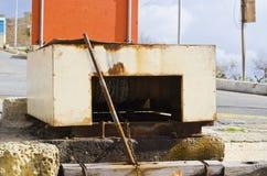 Μηχανική τροχαλία βαρκών Στοκ Εικόνα