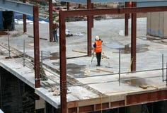 μηχανικοί κατασκευής Στοκ εικόνα με δικαίωμα ελεύθερης χρήσης