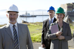 μηχανικοί που στέλνουν τη Στοκ εικόνα με δικαίωμα ελεύθερης χρήσης