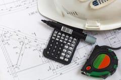 Μηχανικός κατασκευής εγκαταστάσεων Στοκ εικόνες με δικαίωμα ελεύθερης χρήσης