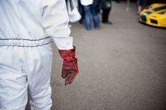 Μηχανικός με το γάντι Στοκ φωτογραφίες με δικαίωμα ελεύθερης χρήσης