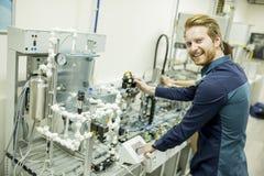 Μηχανικός στο εργοστάσιο Στοκ Εικόνα