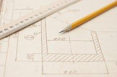 μηχανικός σχεδίων Στοκ εικόνα με δικαίωμα ελεύθερης χρήσης