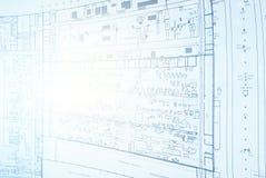 Μηχανικός σχεδίων σχεδιαστών Στοκ φωτογραφία με δικαίωμα ελεύθερης χρήσης