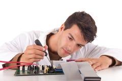 Μηχανικός υπολογιστών στοκ φωτογραφία με δικαίωμα ελεύθερης χρήσης