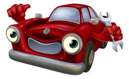 Μηχανικός χαρακτήρας αυτοκινήτων Στοκ φωτογραφίες με δικαίωμα ελεύθερης χρήσης