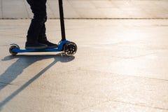 Μηχανικό δίκυκλο λακτίσματος Στοκ φωτογραφία με δικαίωμα ελεύθερης χρήσης
