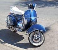Μηχανικό δίκυκλο μοτοσικλετών Vespa Στοκ Εικόνες