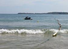Μηχανικό δίκυκλο ύδατος Στοκ φωτογραφία με δικαίωμα ελεύθερης χρήσης