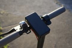 Μηχανικό δίκυκλο για το μίσθωμα στοκ φωτογραφία με δικαίωμα ελεύθερης χρήσης