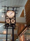 Μηχανικό ρολόι ύφους Steampunk Στοκ Εικόνες