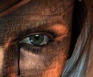 Μηχανικό δάκρυ Στοκ εικόνα με δικαίωμα ελεύθερης χρήσης