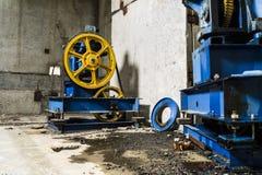 Μηχανισμός ανελκυστήρων Στοκ εικόνες με δικαίωμα ελεύθερης χρήσης