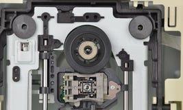 Μηχανισμός μονάδας δίσκου DVD στοκ εικόνες
