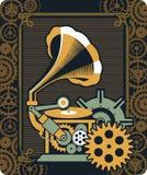 Μηχανισμός Steampunk Στοκ εικόνα με δικαίωμα ελεύθερης χρήσης