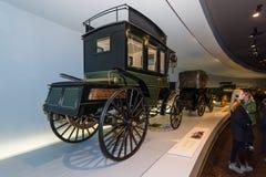 Μηχανοποιημένο Benz λεωφορείο, 1895 Στοκ φωτογραφίες με δικαίωμα ελεύθερης χρήσης