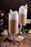 Μηλίτης της Apple latte με τα καρυκεύματα Στοκ Εικόνες
