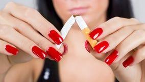 μη καπνίζοντας Στοκ φωτογραφία με δικαίωμα ελεύθερης χρήσης