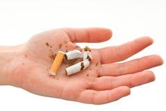 μη καπνιστής Στοκ Εικόνες