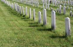 Μη χαρακτηρισμένοι τάφοι Στοκ Φωτογραφίες