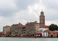 Μη-χαρακτηριστική πλευρά της Βενετίας Στοκ Εικόνες