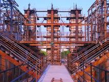 Μη χρησιμοποιούμενες εγκαταστάσεις παραγωγής ενέργειας Στοκ Φωτογραφίες