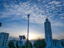 Μια άλλη άποψη από το νομό jama3 του Μαρόκου στοκ φωτογραφίες