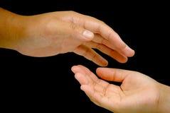 μια άλλη λαβή χεριών στην προσπάθεια Στοκ Εικόνες