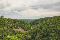 Μια άποψη από το εθνικό πάρκο SöderÃ¥sen στοκ φωτογραφία με δικαίωμα ελεύθερης χρήσης
