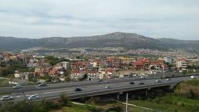 Μια άποψη από το εμπορικό κέντρο στοκ εικόνα με δικαίωμα ελεύθερης χρήσης