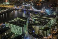 Μια άποψη από το Shard Στοκ Φωτογραφίες
