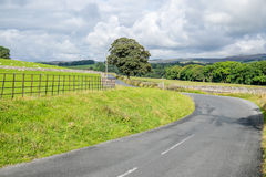Μια άποψη πέρα από το πράσινο και έδαφος Pleaant της Αγγλίας Στοκ Εικόνες