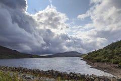 Μια άποψη πέρα από Llyn Celyn Στοκ Εικόνες