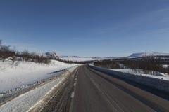 Μια άποψη πέρα από TorneTrask Στοκ Εικόνες
