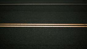 Μια άποψη πλεονάσματος των γραμμών οδών στο δρόμο στοκ φωτογραφία με δικαίωμα ελεύθερης χρήσης
