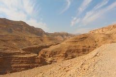Μια άποψη στην έρημο Negev Στοκ εικόνες με δικαίωμα ελεύθερης χρήσης