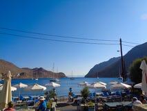 Μια άποψη στον κόλπο στην Ελλάδα στοκ εικόνα με δικαίωμα ελεύθερης χρήσης