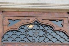 Μια άποψη της βασιλικής του ST Anthony την Κυριακή - μια λεπτομέρεια - Πάδοβα, Ιταλία Στοκ Φωτογραφία