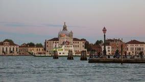 Μια άποψη της εκκλησίας του IL Redentore Νησί Giudecca, Βενετία απόθεμα βίντεο