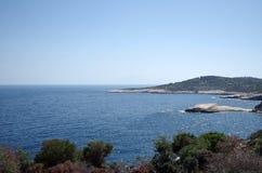 Μια άποψη της θάλασσας στοκ εικόνες